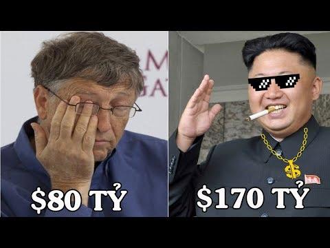 Nếu đọ tài sản của 5 người này thì Bill Gates cũng khóc thét