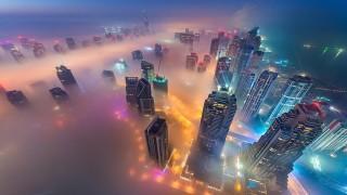 Ngỡ ngàng Dubai lộng lẫy, lấp lánh nhìn từ trên cao