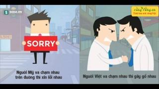 50 sự khác nhau hài hước bá đạo giữa người Việt và Người Mỹ - Việt